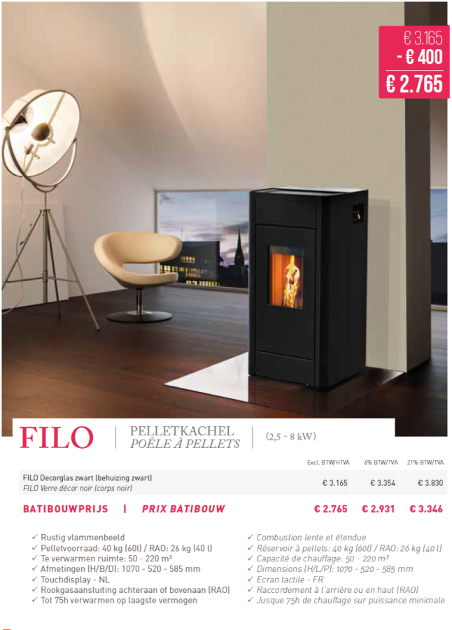 rika filo 8 kw poele pellets 2015 l d energy. Black Bedroom Furniture Sets. Home Design Ideas